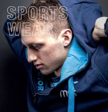Sportswear – great discount